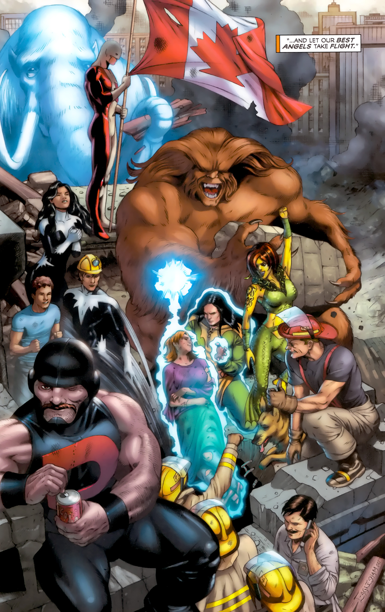 Read online Alpha Flight (2011) comic -  Issue #8 - 22