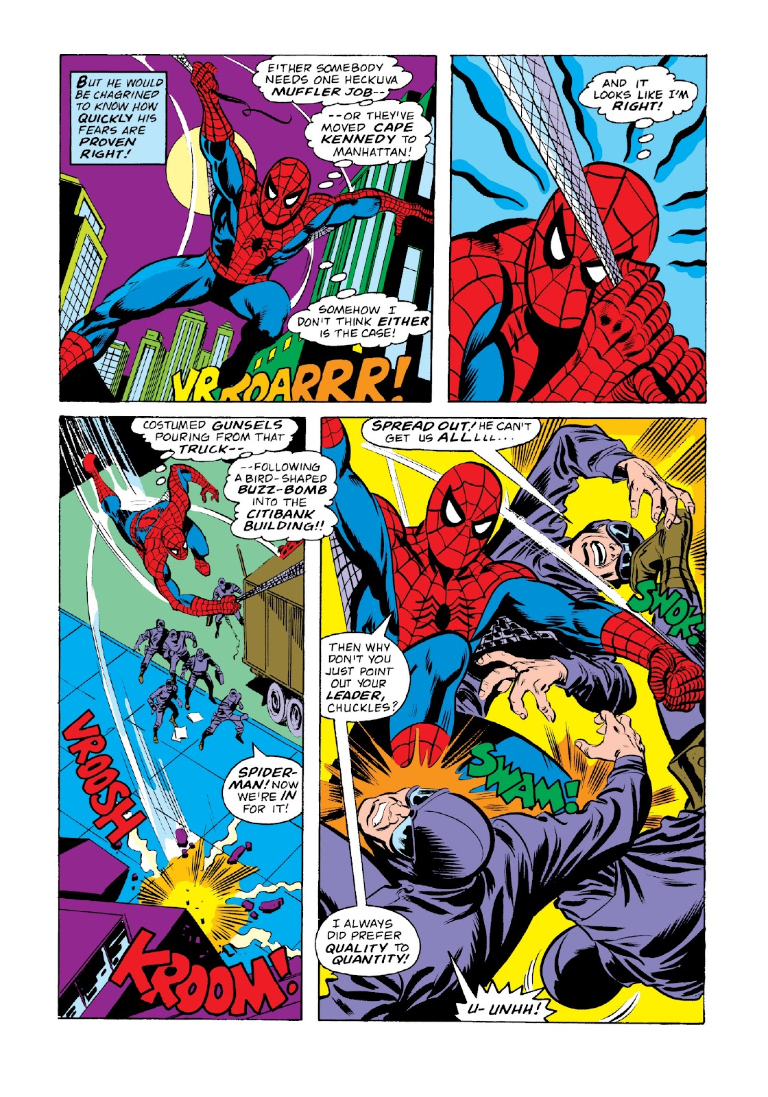 Read online Marvel Masterworks: The Spectacular Spider-Man comic -  Issue # TPB 2 (Part 2) - 84