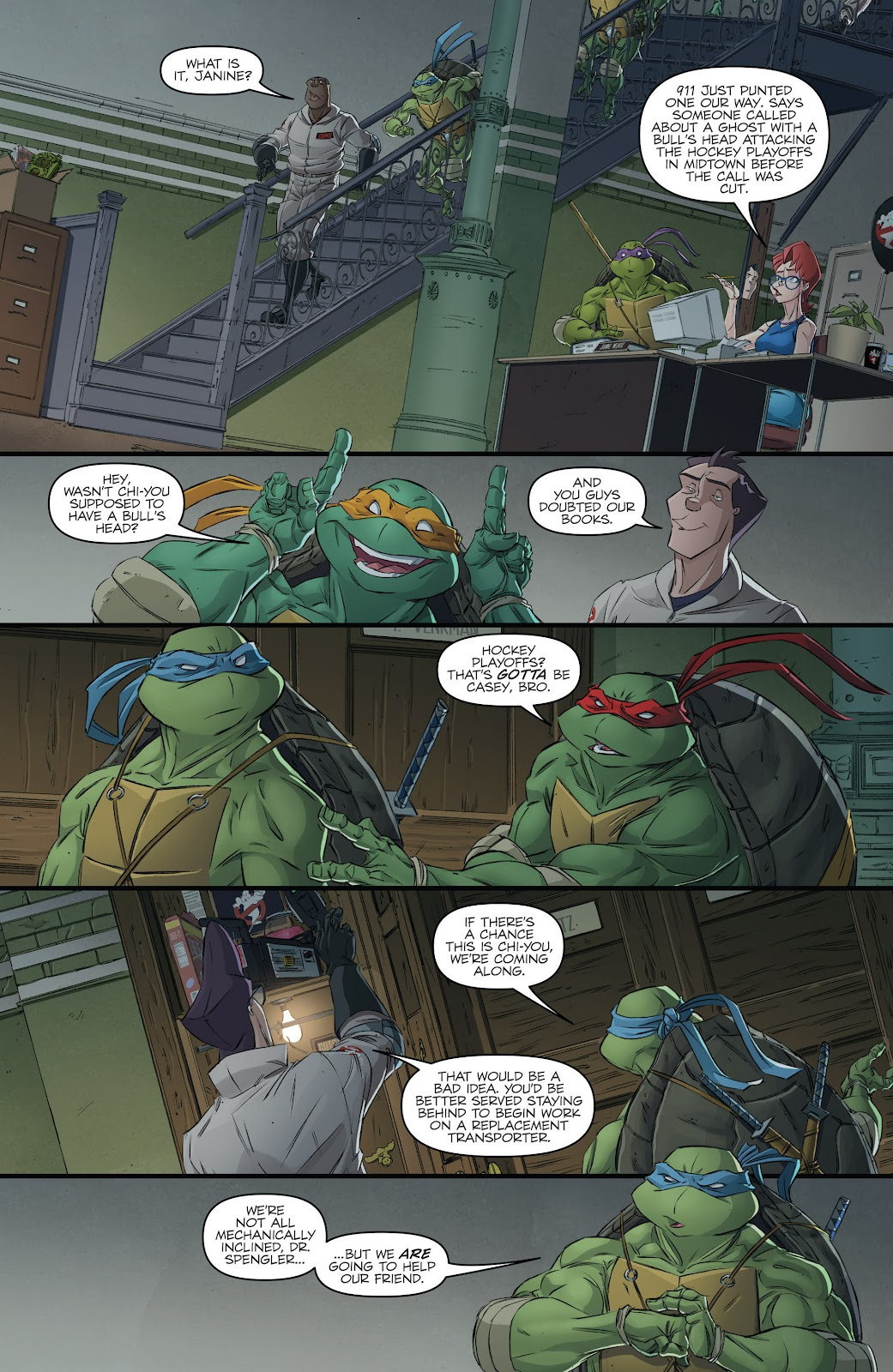 Read online Teenage Mutant Ninja Turtles: The IDW Collection comic -  Issue # TPB 5 (Part 3) - 14