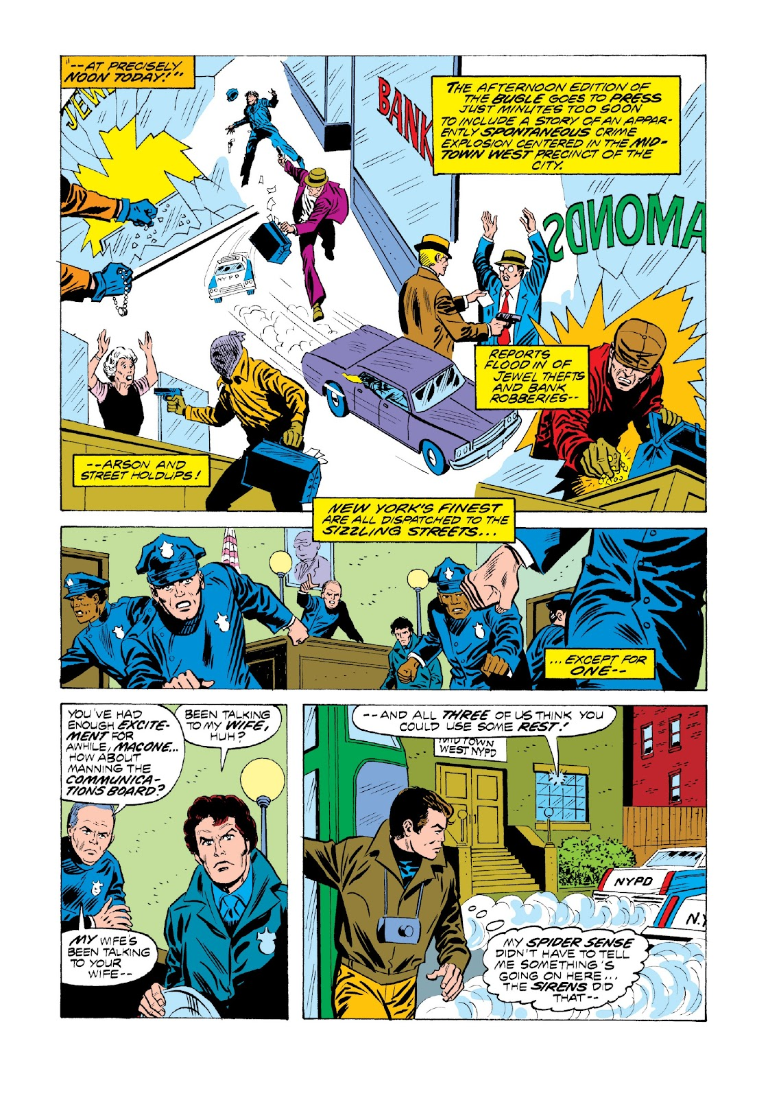 Read online Marvel Masterworks: The Spectacular Spider-Man comic -  Issue # TPB 2 (Part 1) - 16