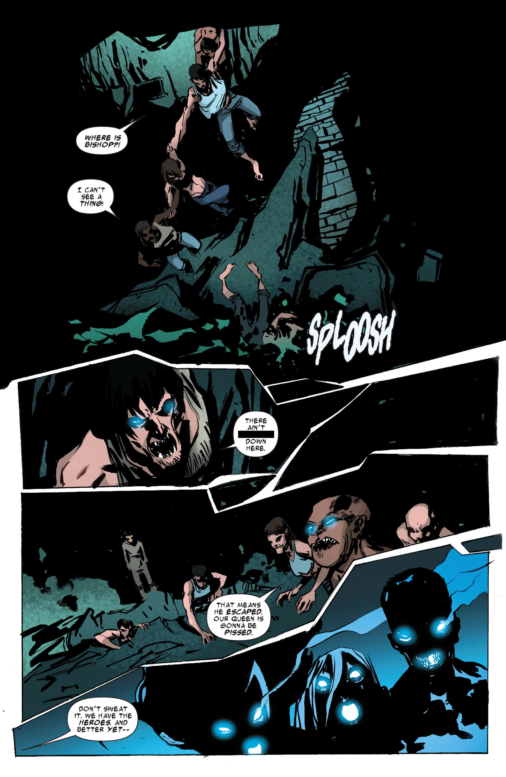 Read online Uncanny X-Force (2013) comic -  Issue #10 - 17