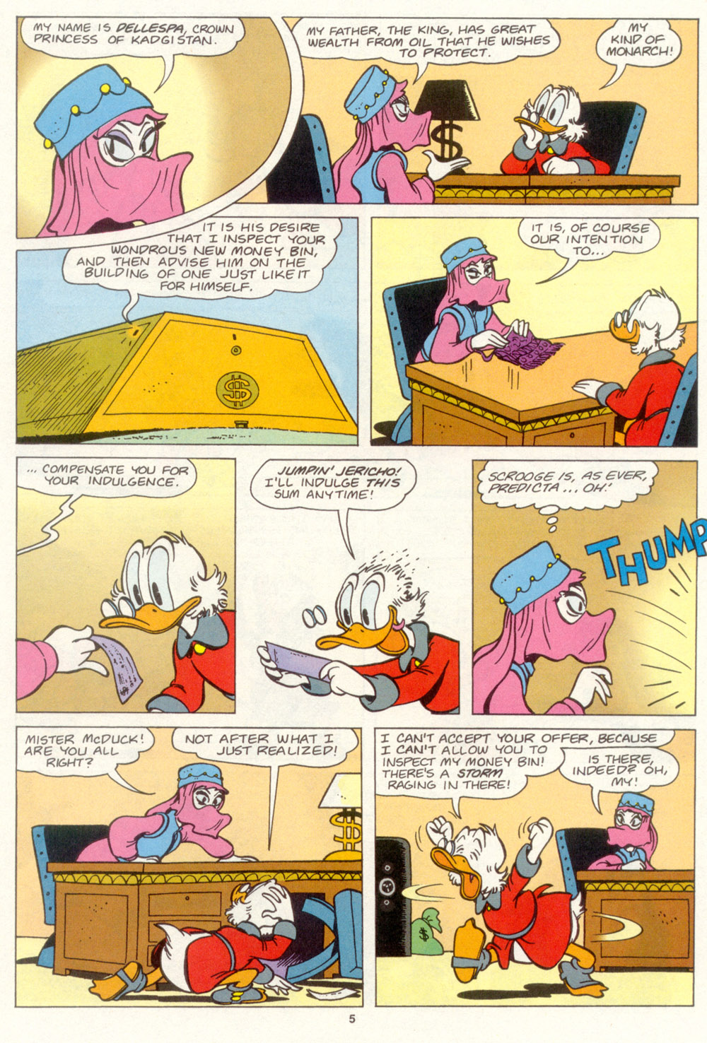 Read online Uncle Scrooge (1953) comic -  Issue #267 - 6