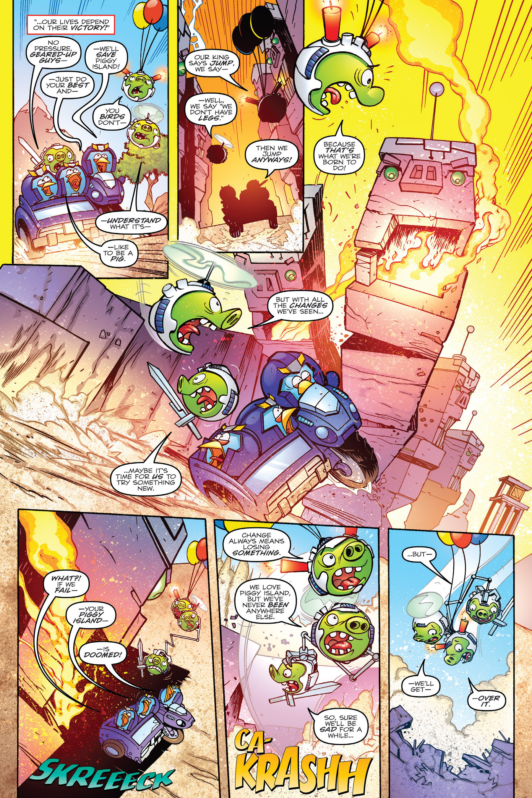 Read online Angry Birds Transformers: Age of Eggstinction comic -  Issue # Full - 76
