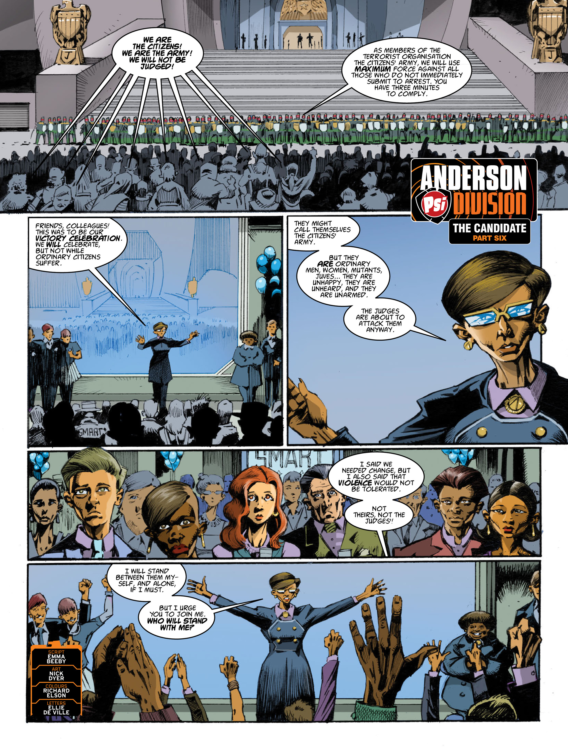 Read online 2000 AD comic -  Issue #1998 - 24