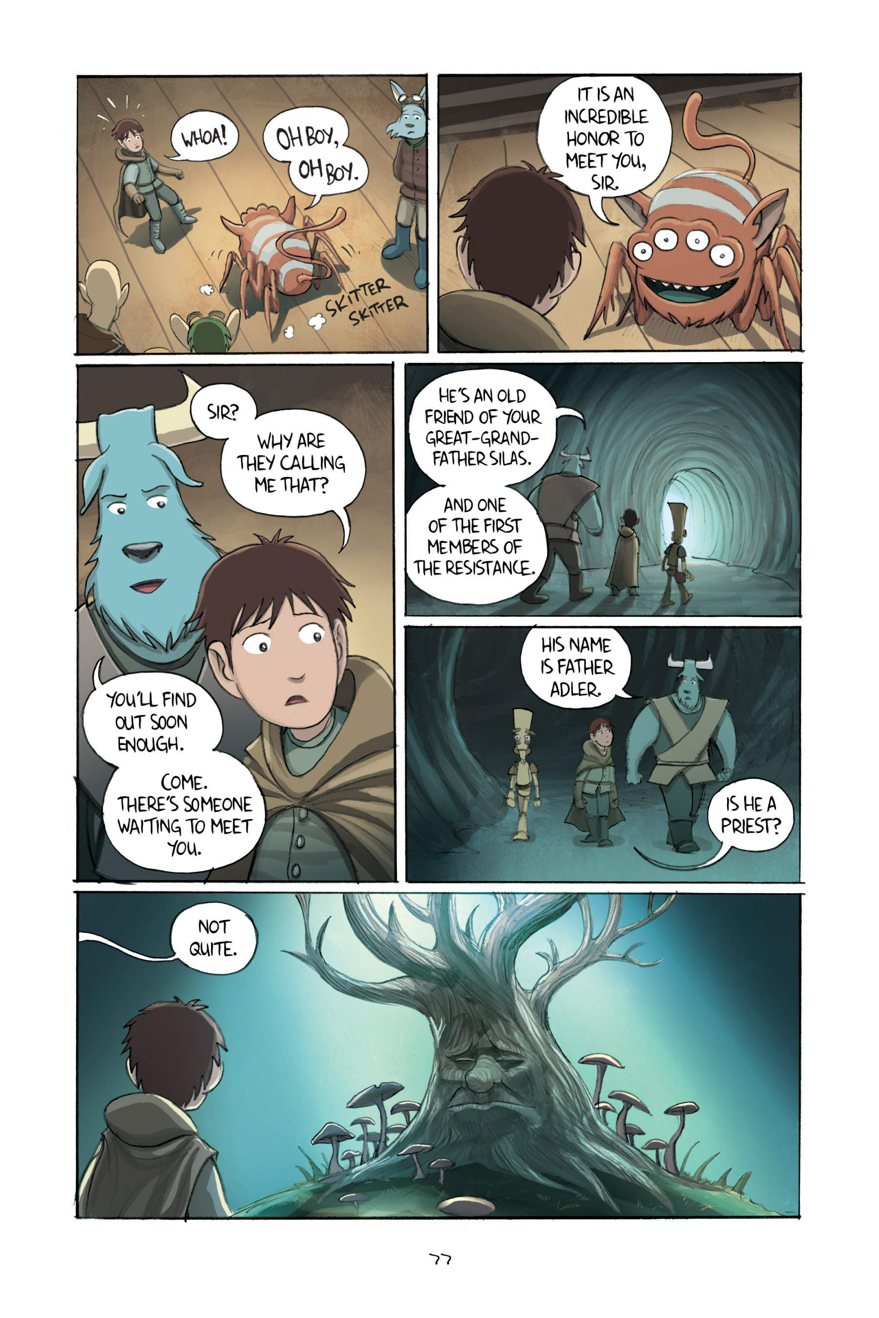 Read online Amulet comic -  Issue #2 - 78