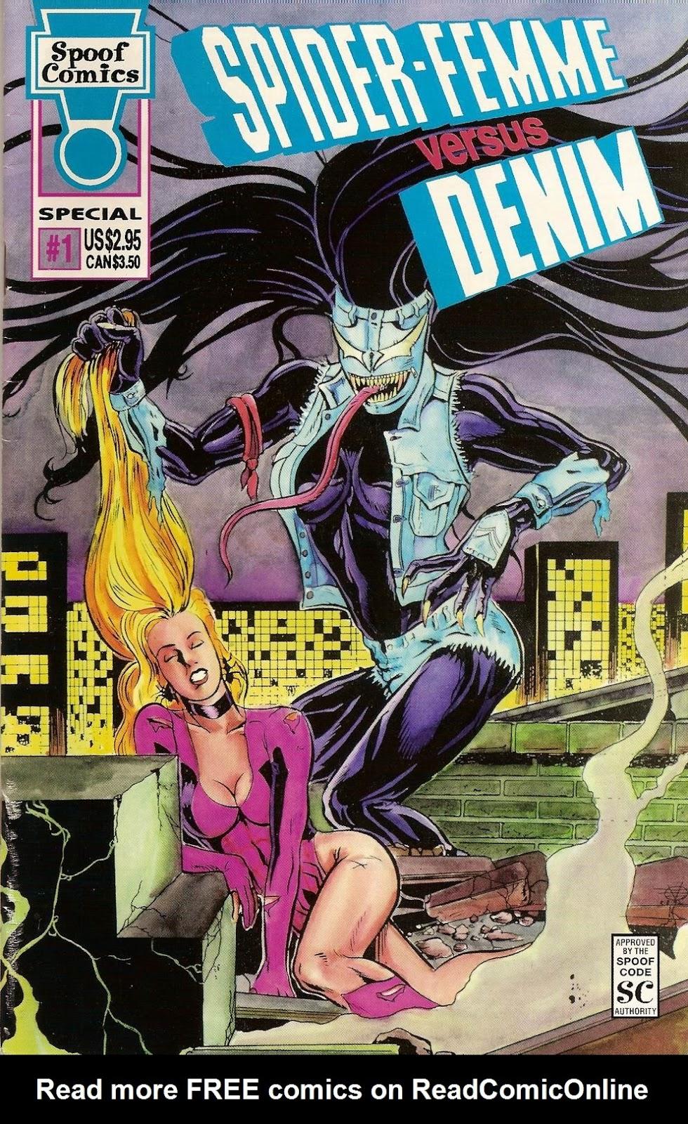 Spider Femme Versus Denim Full Page 1