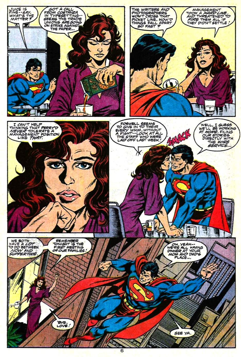 Read online Adventures of Superman (1987) comic -  Issue #482 - 7