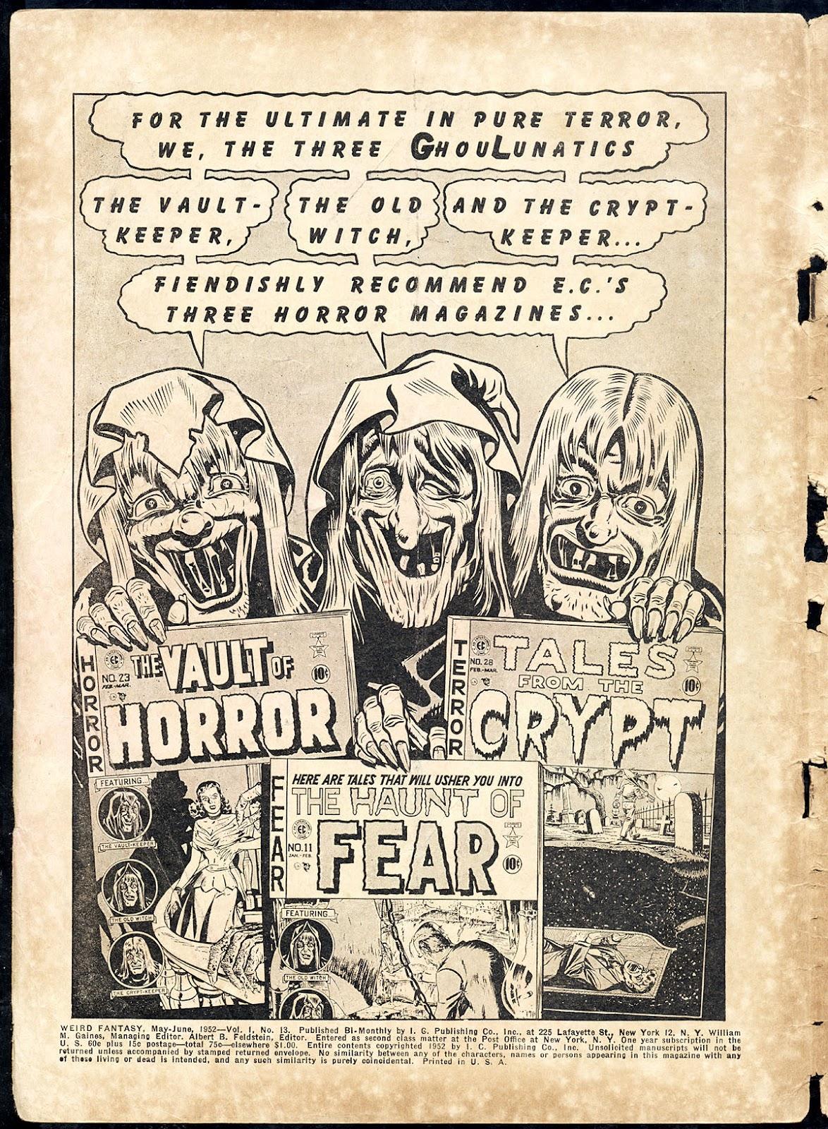 Weird Fantasy (1951) issue 13 - Page 2