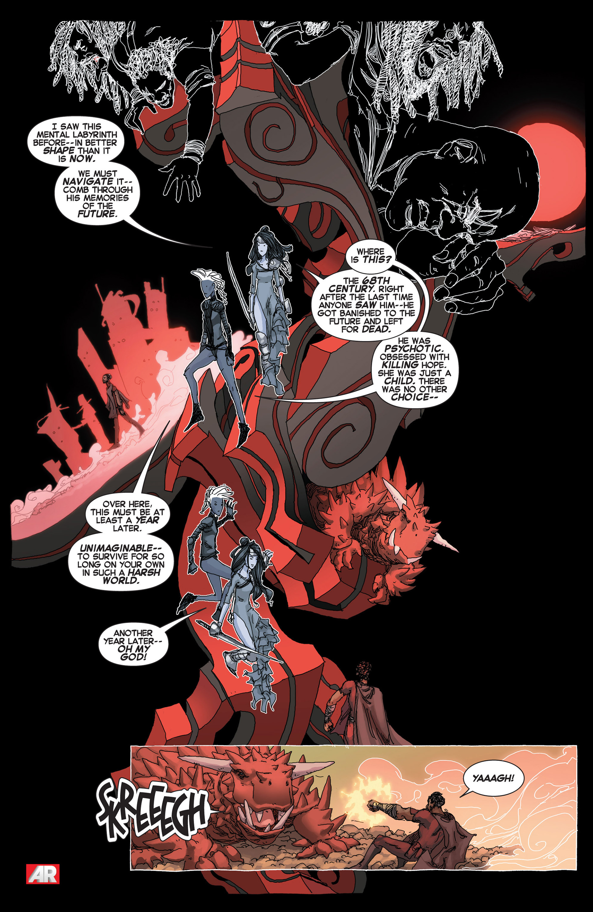 Read online Uncanny X-Force (2013) comic -  Issue #5 - 6