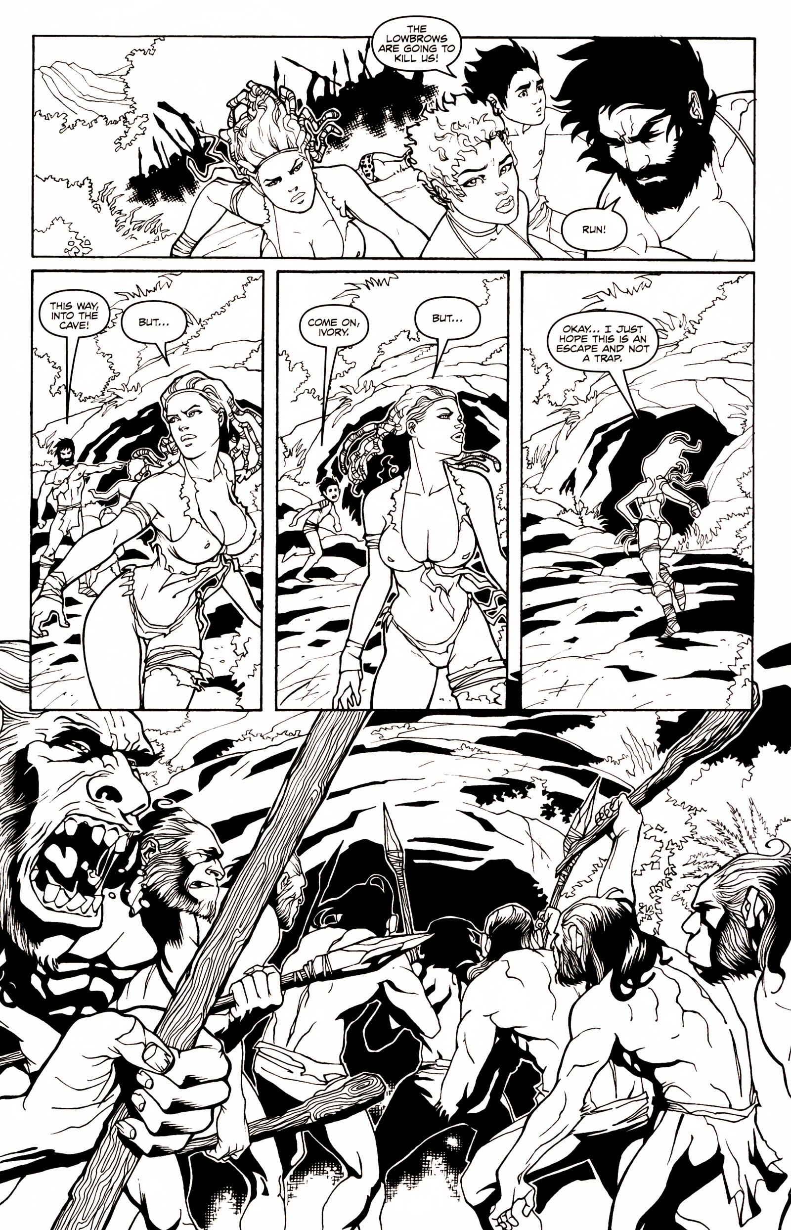 Read online Jungle Fantasy (2002) comic -  Issue # _Annual 1 - 20