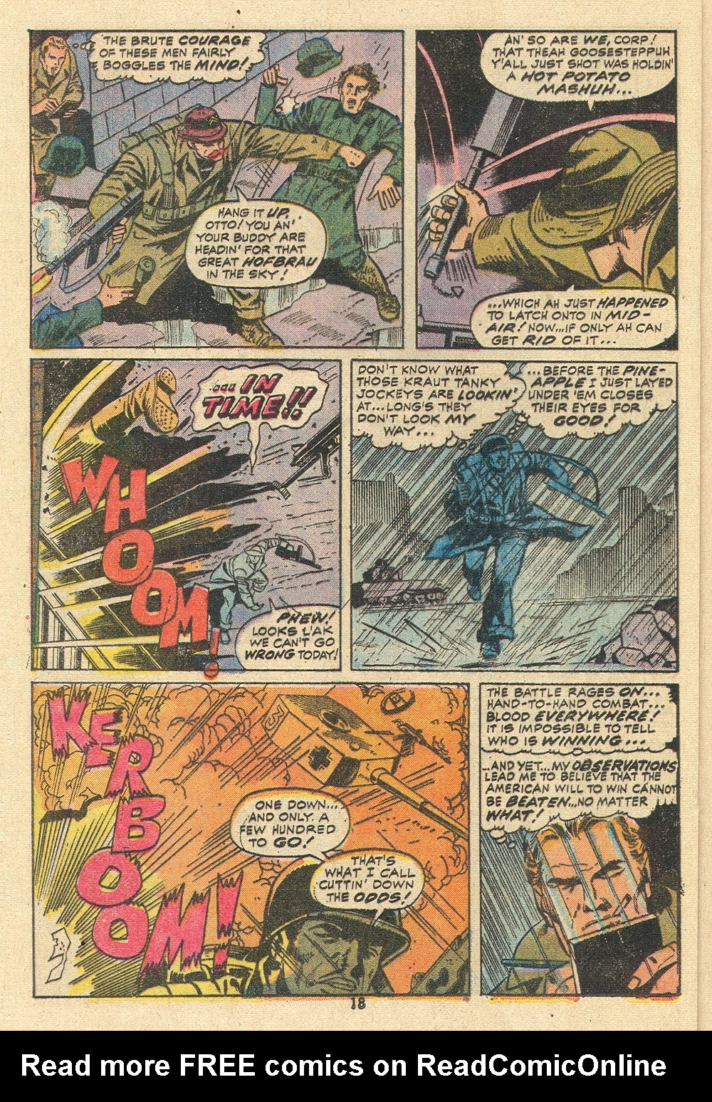 Read online Sgt. Fury comic -  Issue #110 - 20