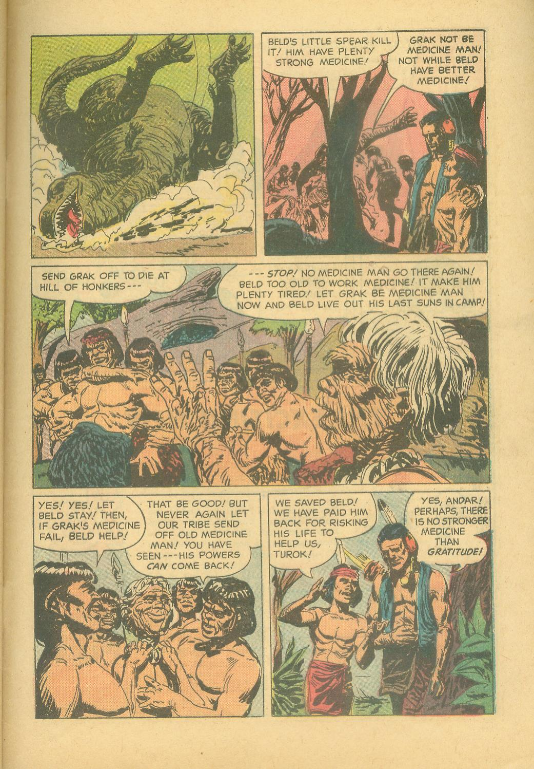 Read online Turok, Son of Stone comic -  Issue #28 - 33