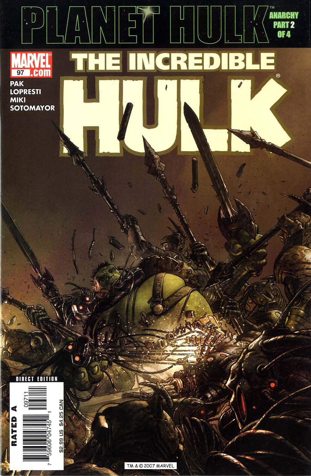 Read online The Incredible Hulk (2000) comic -  Issue #97 - 1