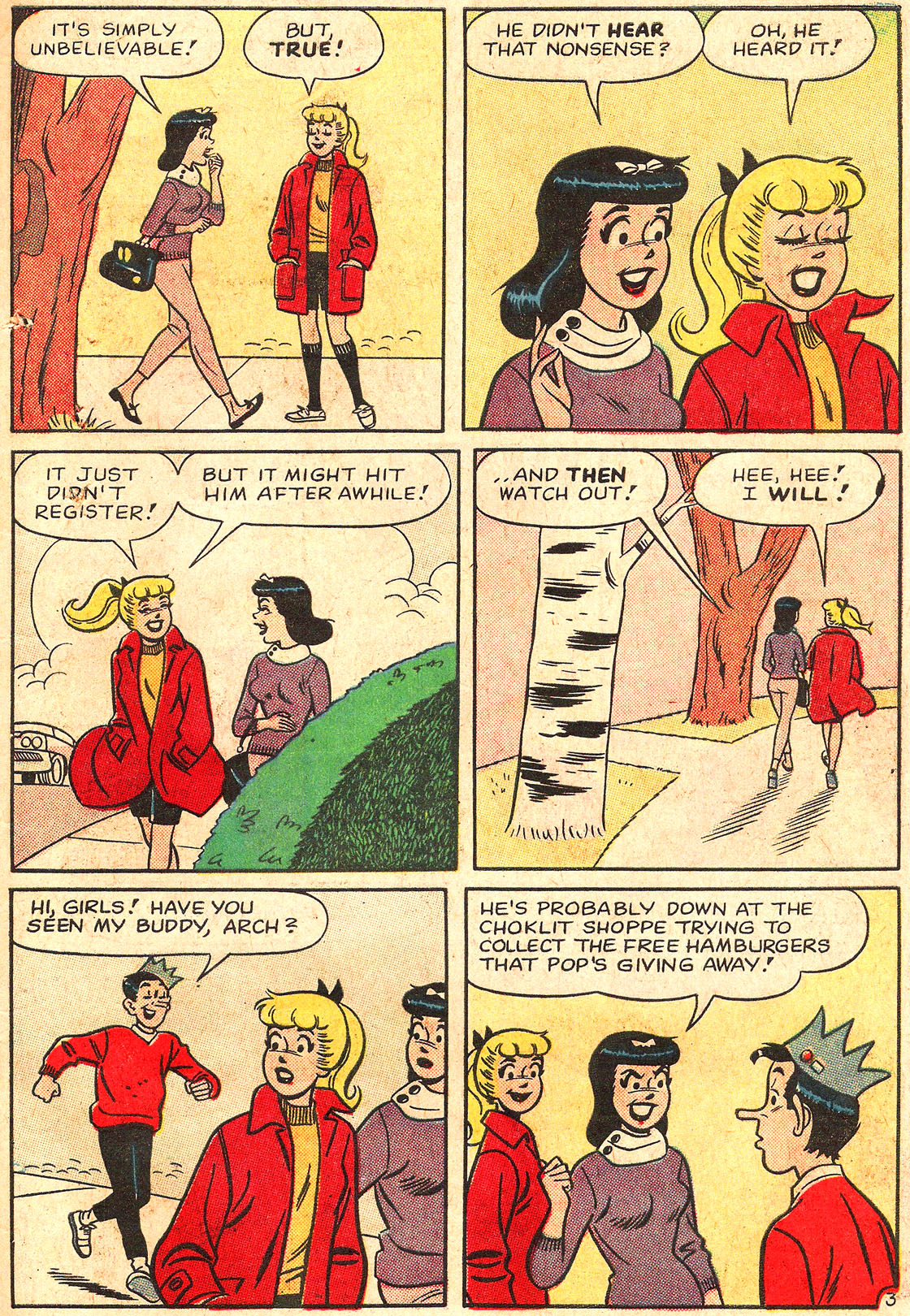 Read online Archie's Girls Betty and Veronica comic -  Issue #89 - 15