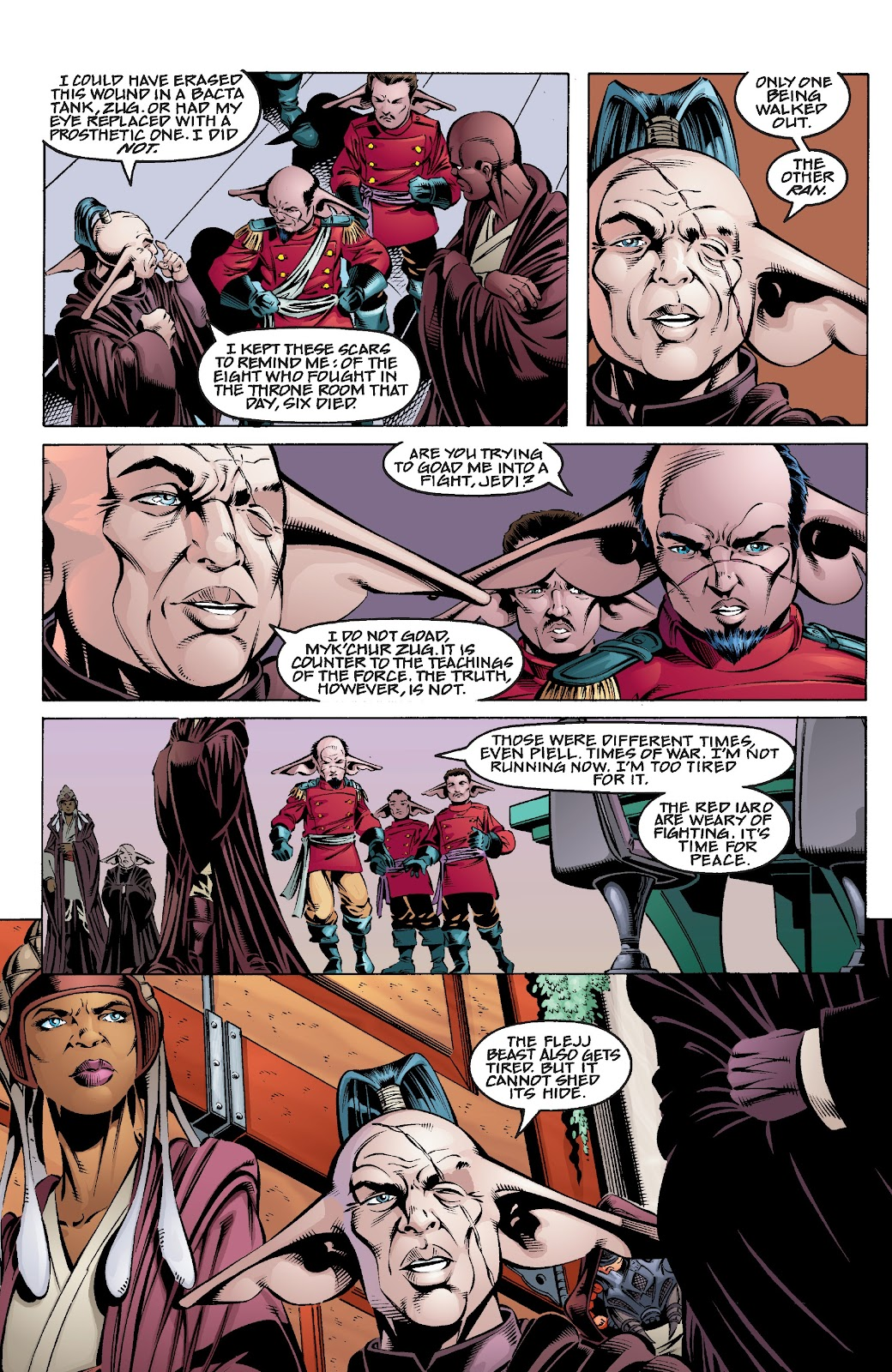 Read online Star Wars Legends Epic Collection: The Menace Revealed comic -  Issue # TPB (Part 4) - 1