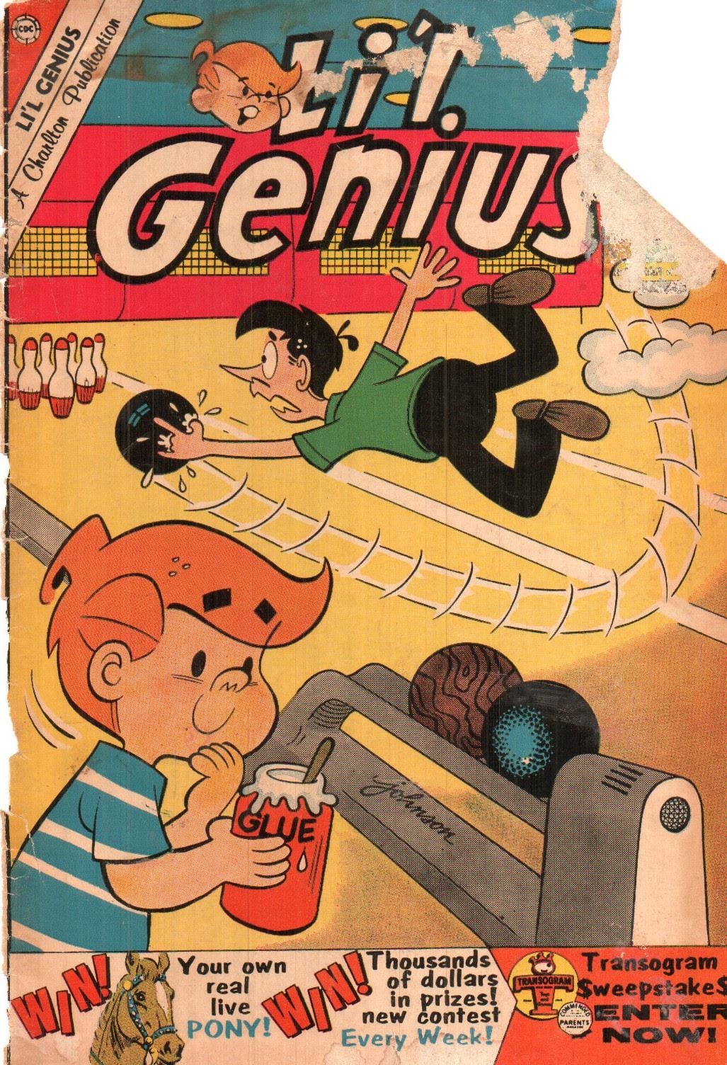 Lil Genius 27 Page 1