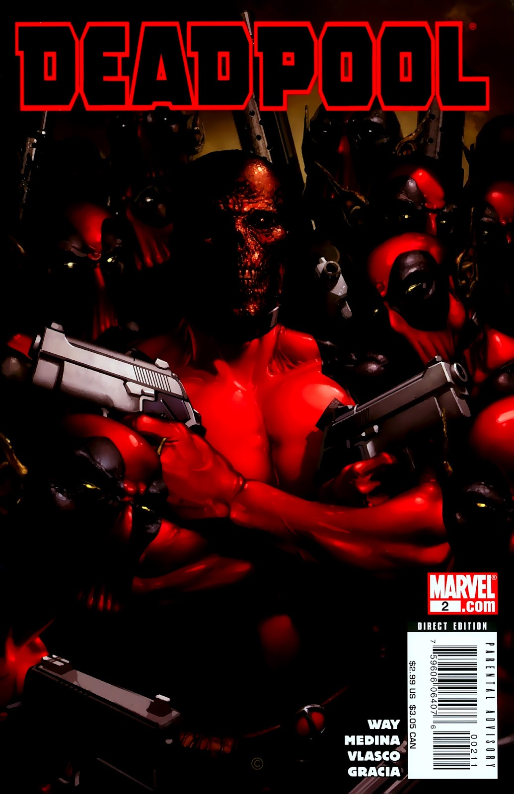 Read online Deadpool (2008) comic -  Issue #2 - 1