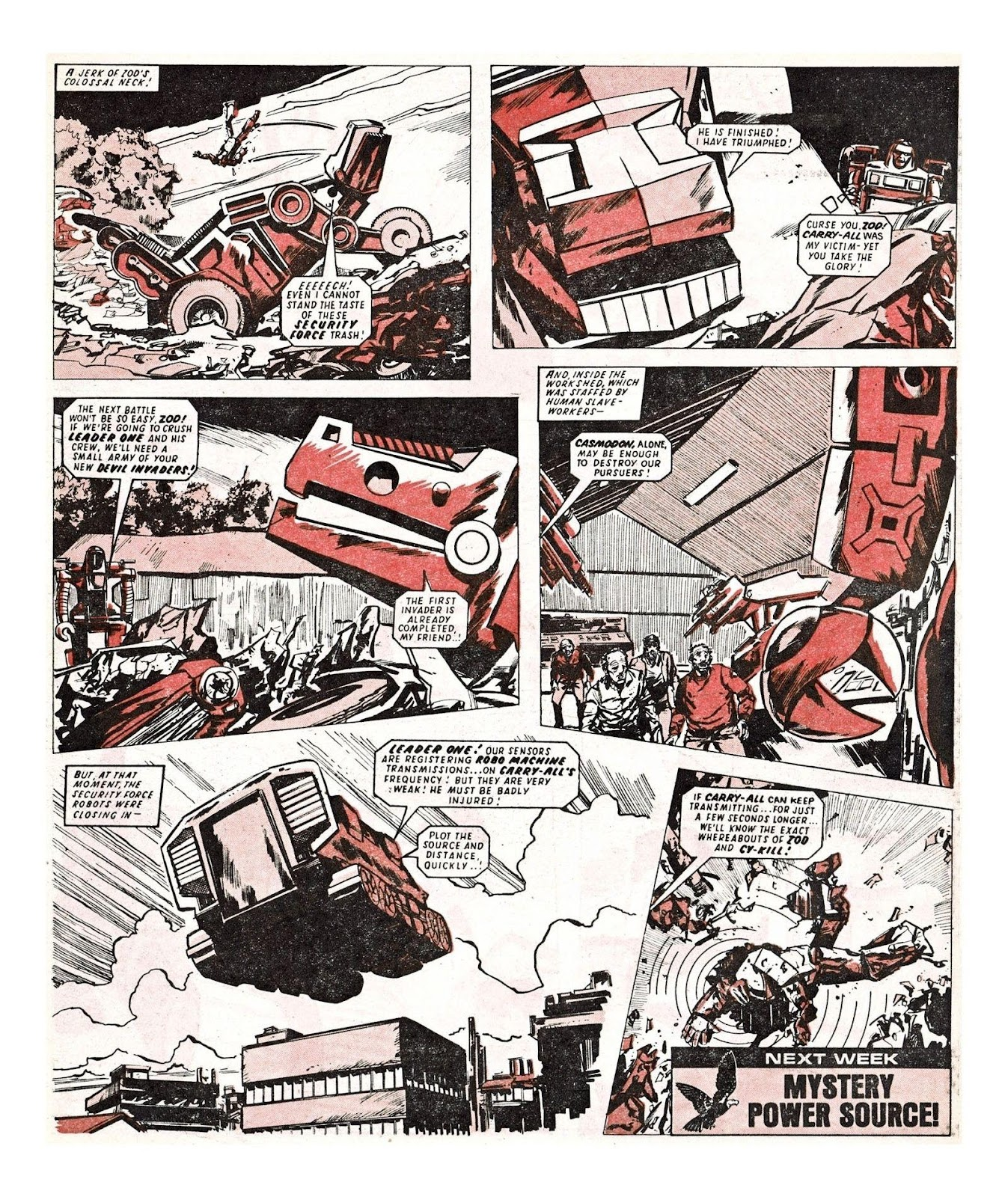Read online Robo Machines comic -  Issue # TPB - 87