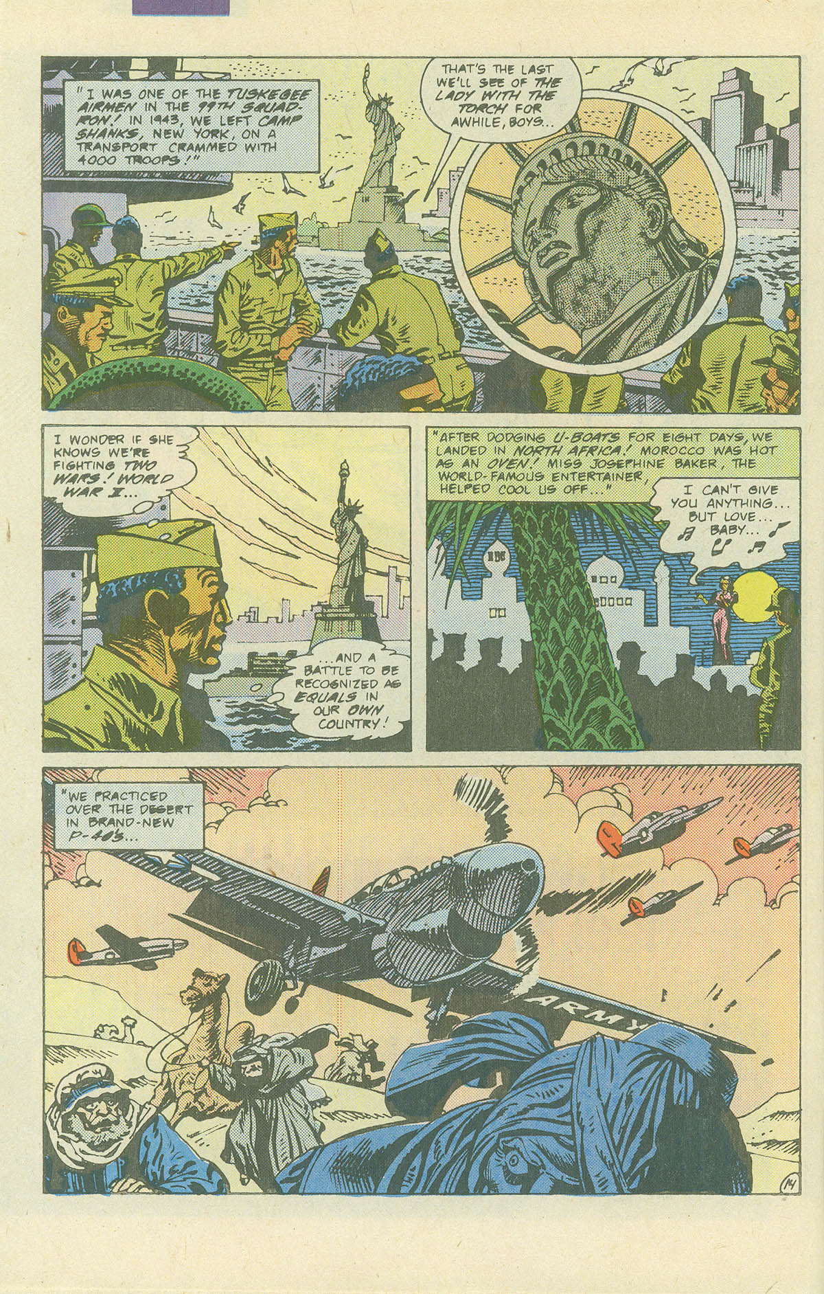 Read online Sgt. Rock comic -  Issue #405 - 19