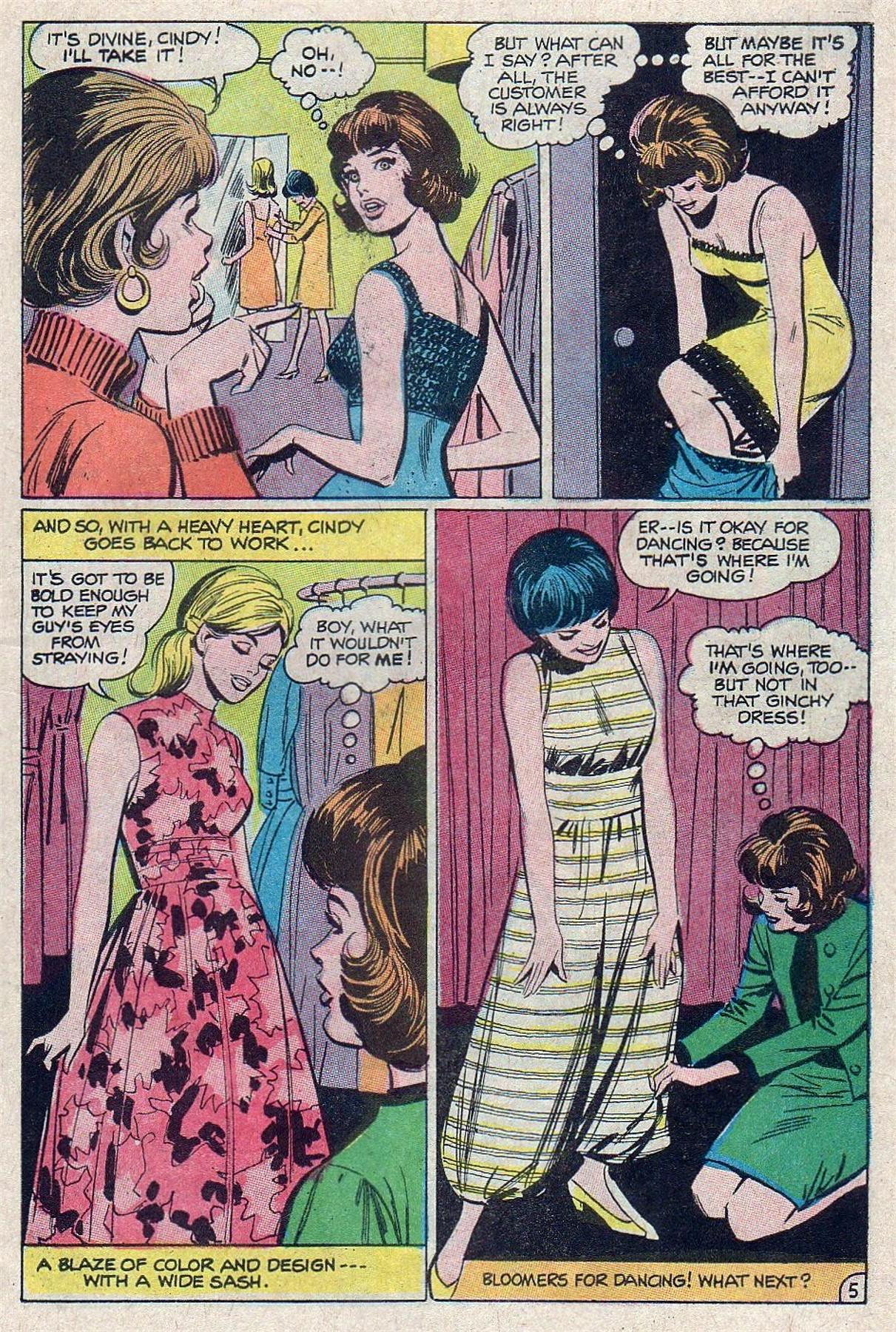 Read online Secret Hearts comic -  Issue #129 - 7