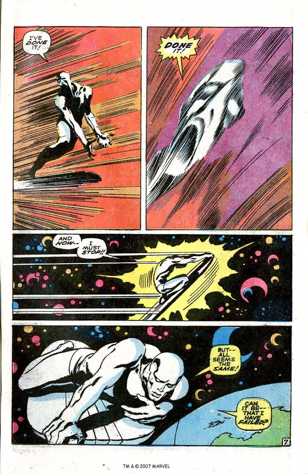 Read online Silver Surfer (1968) comic -  Issue #6 - 9
