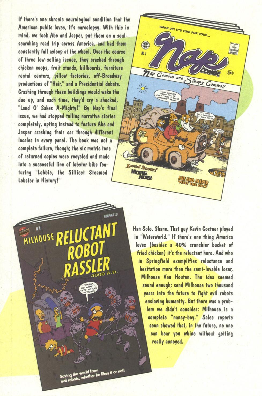 Read online Simpsons Comics comic -  Issue #35 - 31