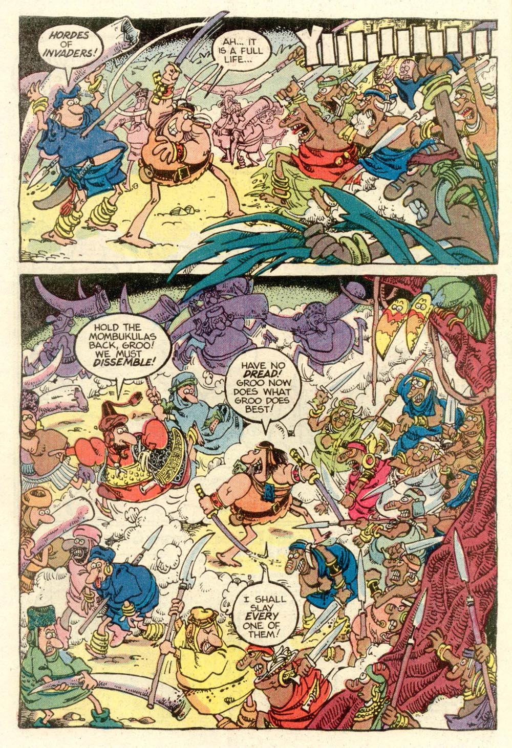 Read online Sergio Aragonés Groo the Wanderer comic -  Issue #7 - 6