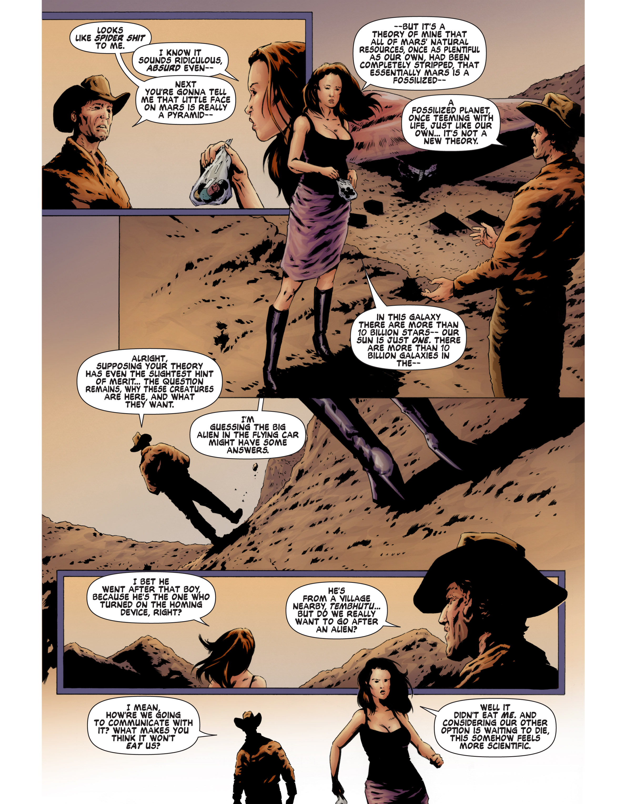 Read online Bad Planet comic -  Issue # TPB - 78