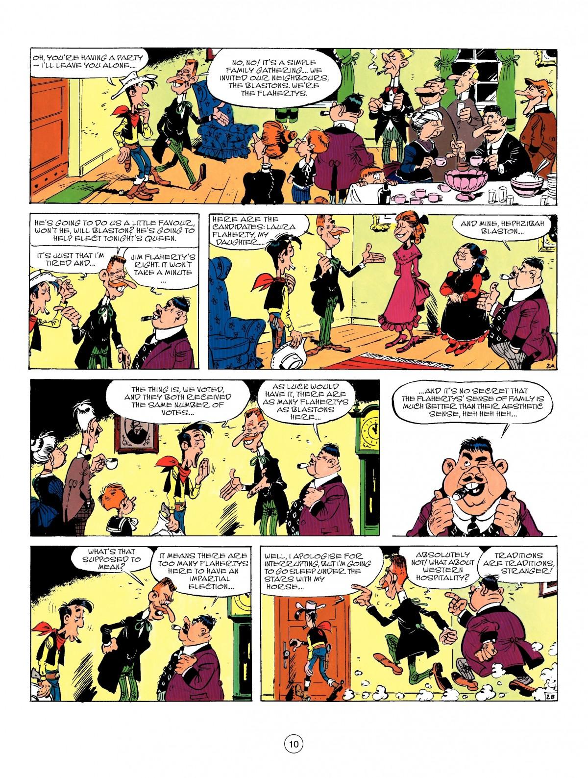 Read online A Lucky Luke Adventure comic -  Issue #50 - 10