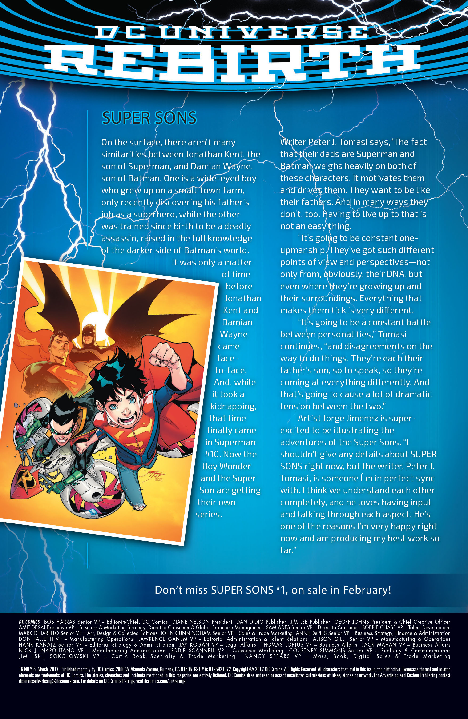 Read online Trinity (2016) comic -  Issue #5 - 21