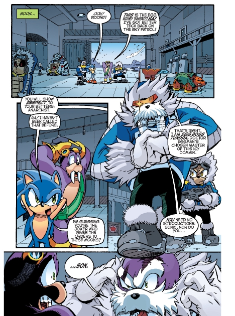 Read online Sonic Comics Spectacular: Speed of Sound comic -  Issue # Full - 124