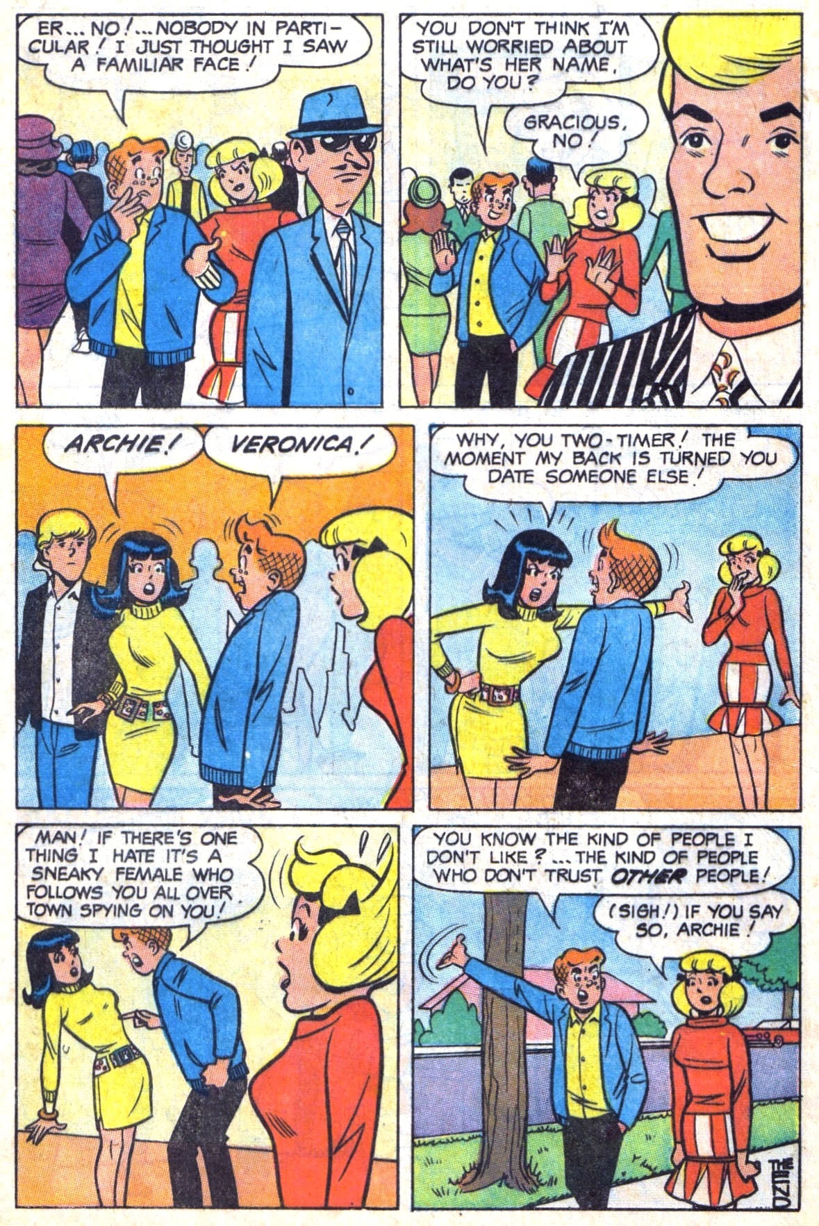 Read online Archie (1960) comic -  Issue #179 - 8