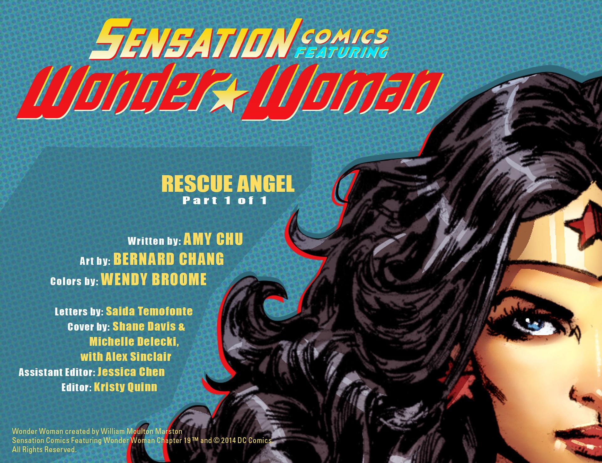 Read online Sensation Comics Featuring Wonder Woman comic -  Issue #19 - 2