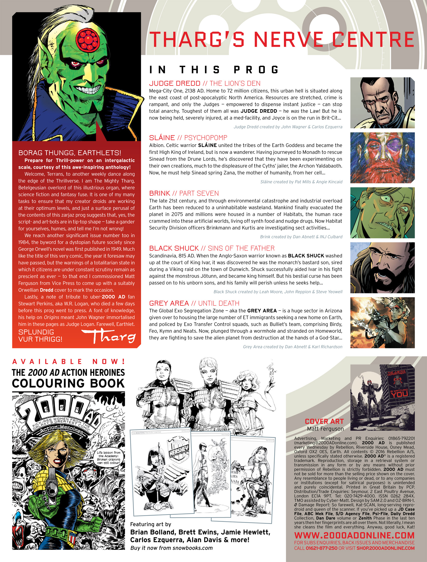 Read online 2000 AD comic -  Issue #1984 - 2