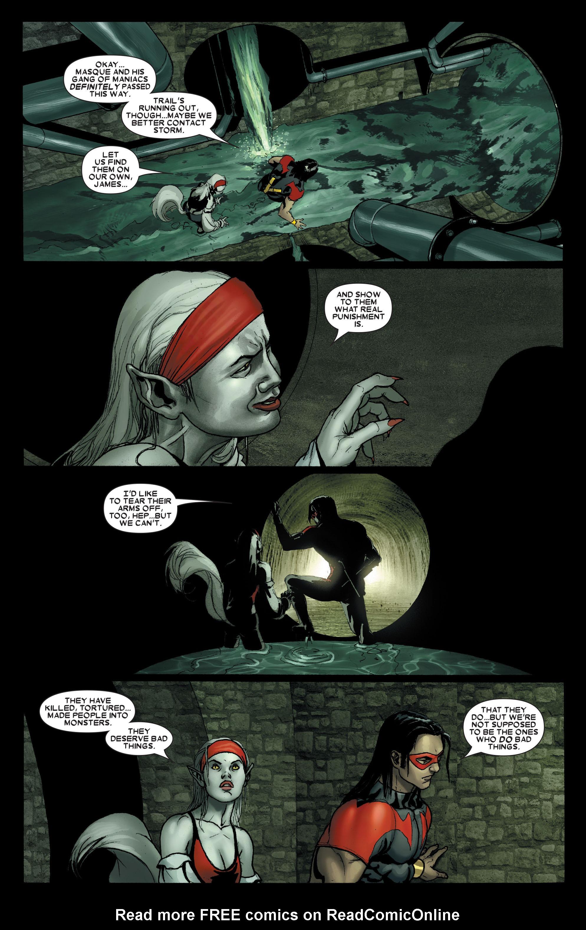 Read online Uncanny X-Men (1963) comic -  Issue #490 - 6