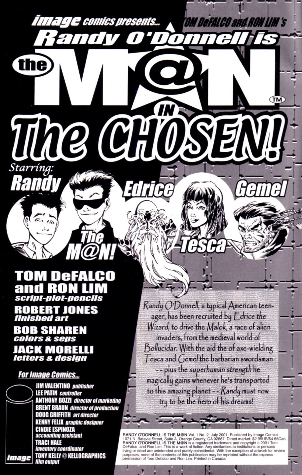 Read online Randy O'Donnell is The M@N comic -  Issue #2 - 2