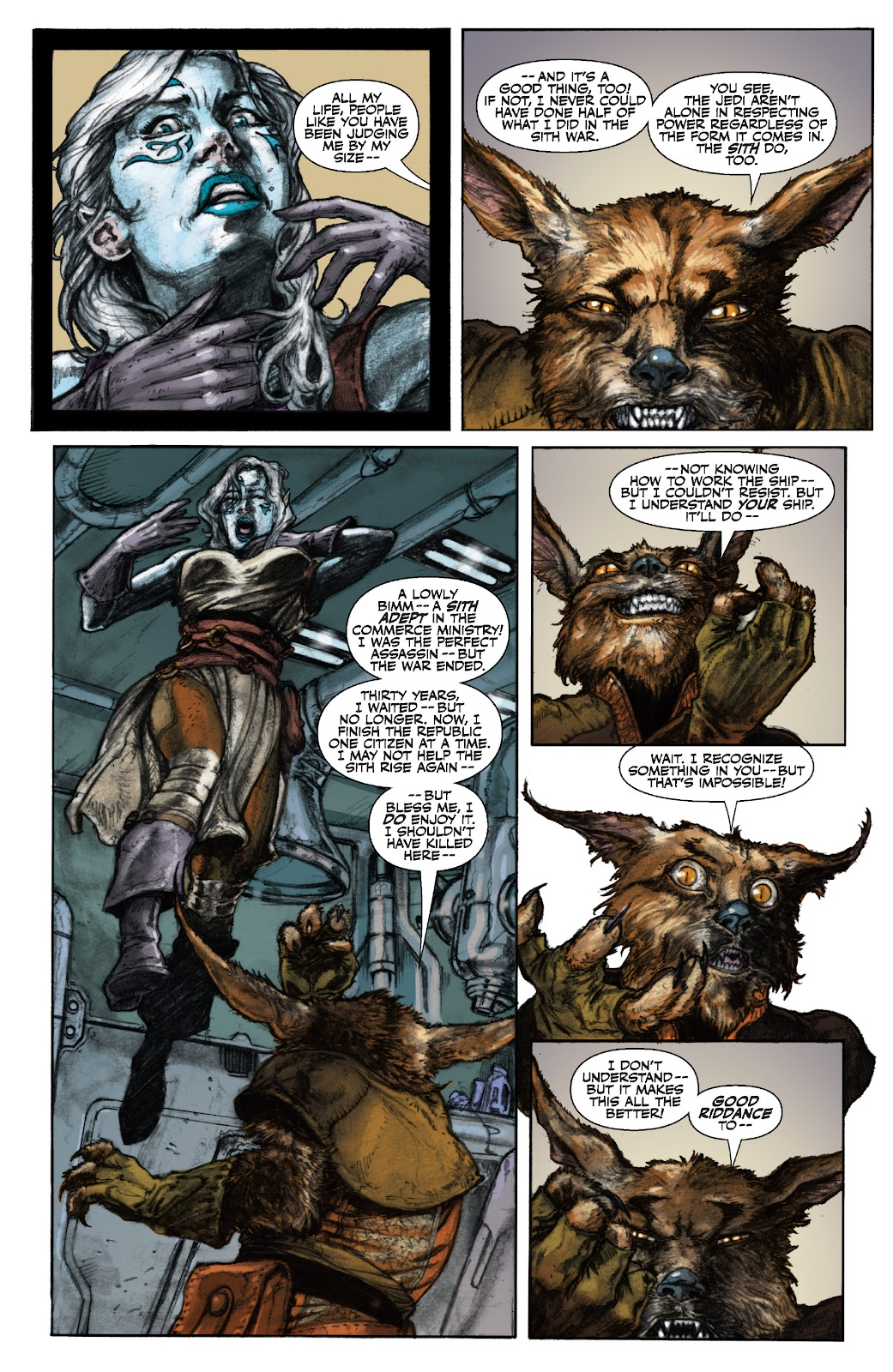 Read online Star Wars Legends: The Old Republic - Epic Collection comic -  Issue # TPB 3 (Part 1) - 23
