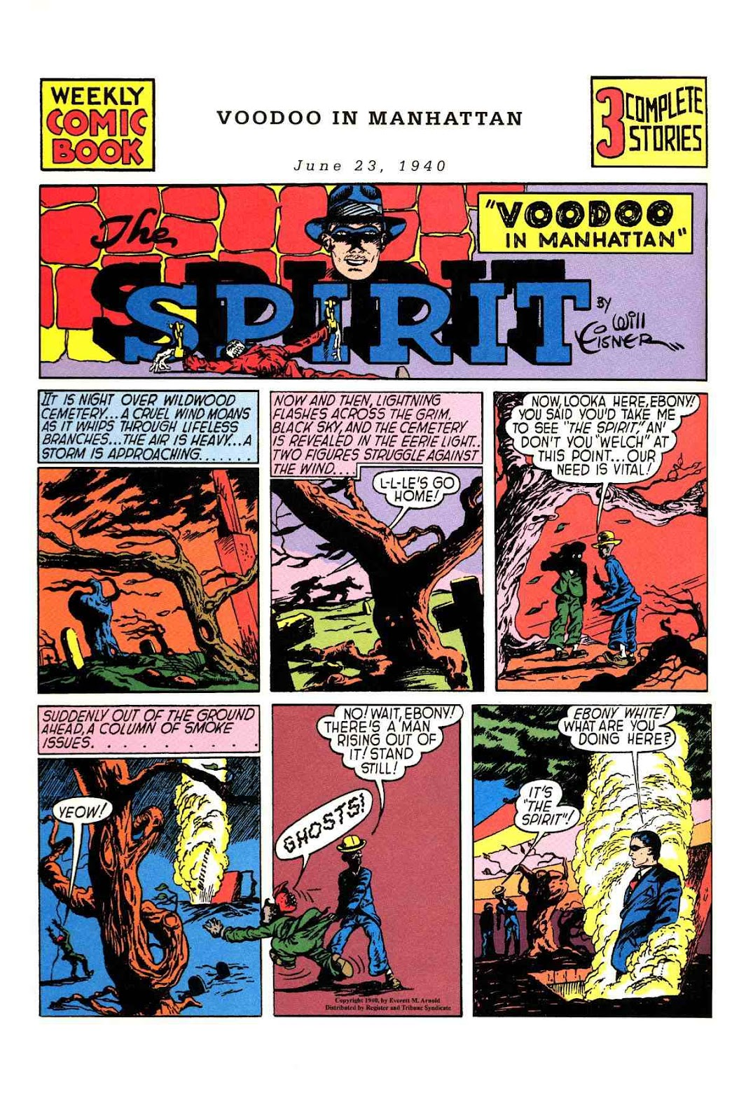 Read online Will Eisner's The Spirit Archives comic -  Issue # TPB 1 (Part 1) - 23