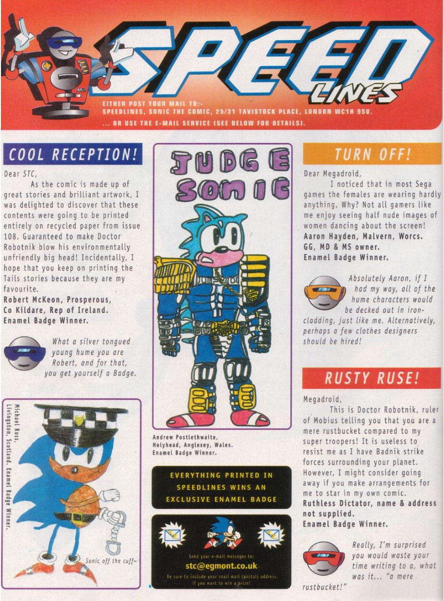 Read online Sonic the Comic comic -  Issue #111 - 14