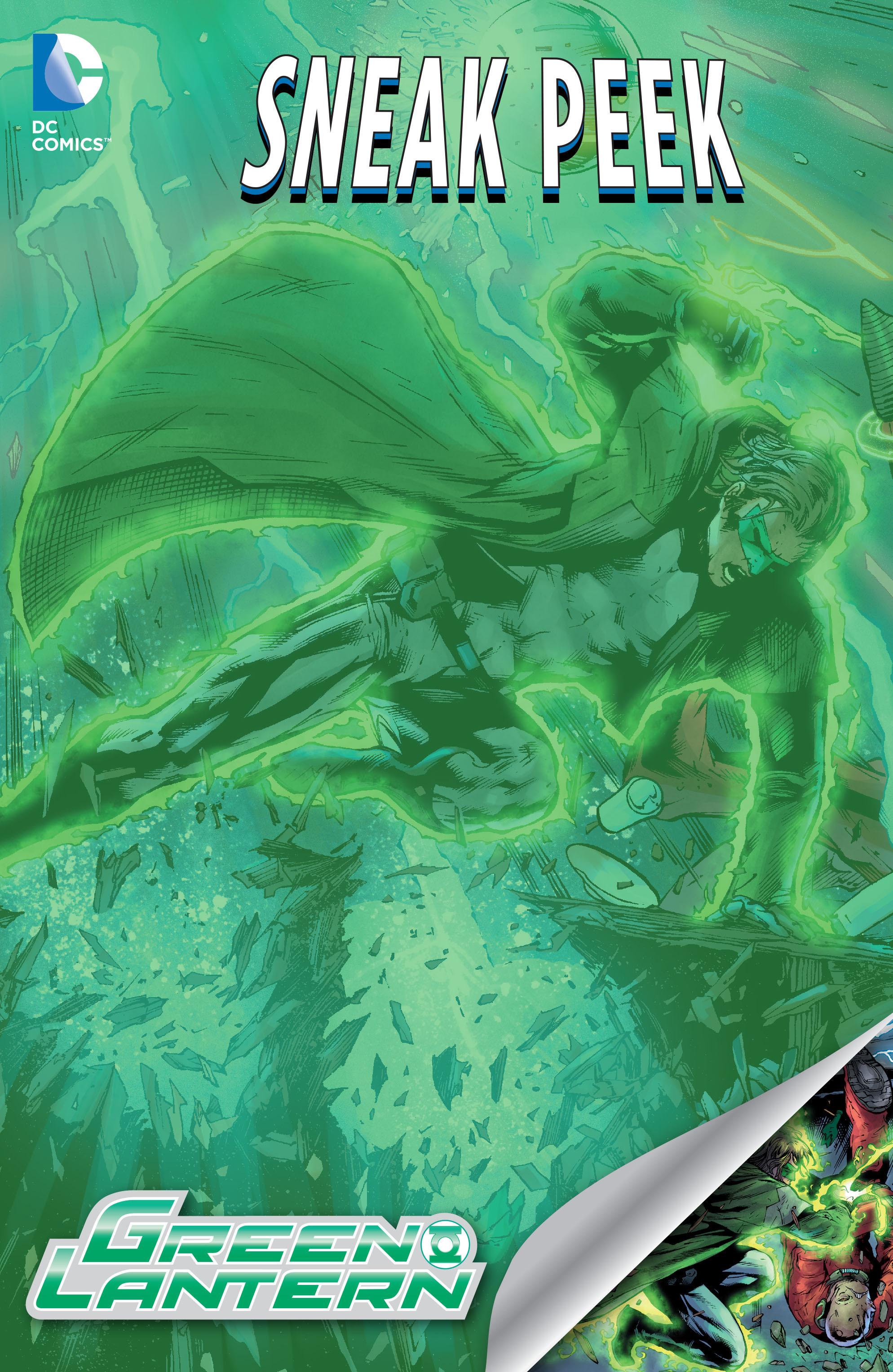 DC Sneak Peek: Green Lantern: The Lost Army Full Page 1