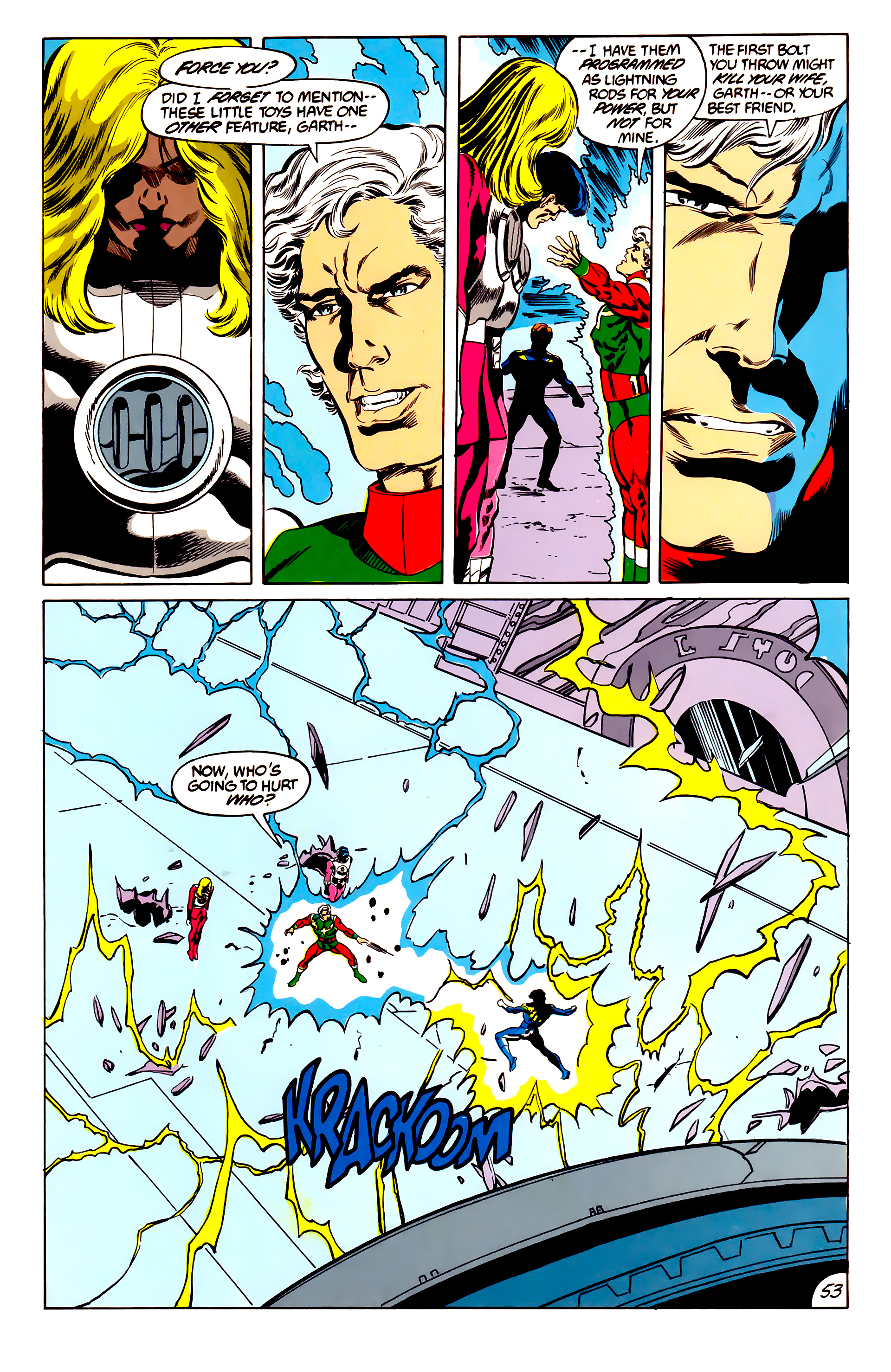 Legion of Super-Heroes (1984) 45 Page 52