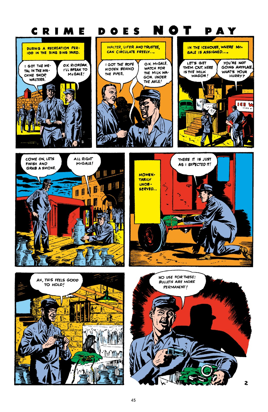 Read online Crime Does Not Pay Archives comic -  Issue # TPB 3 (Part 1) - 45