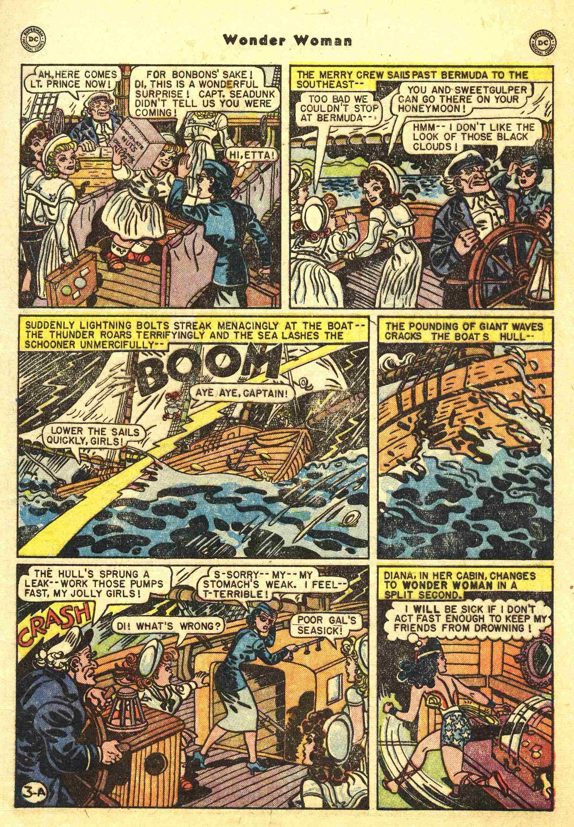Read online Wonder Woman (1942) comic -  Issue #44 - 4