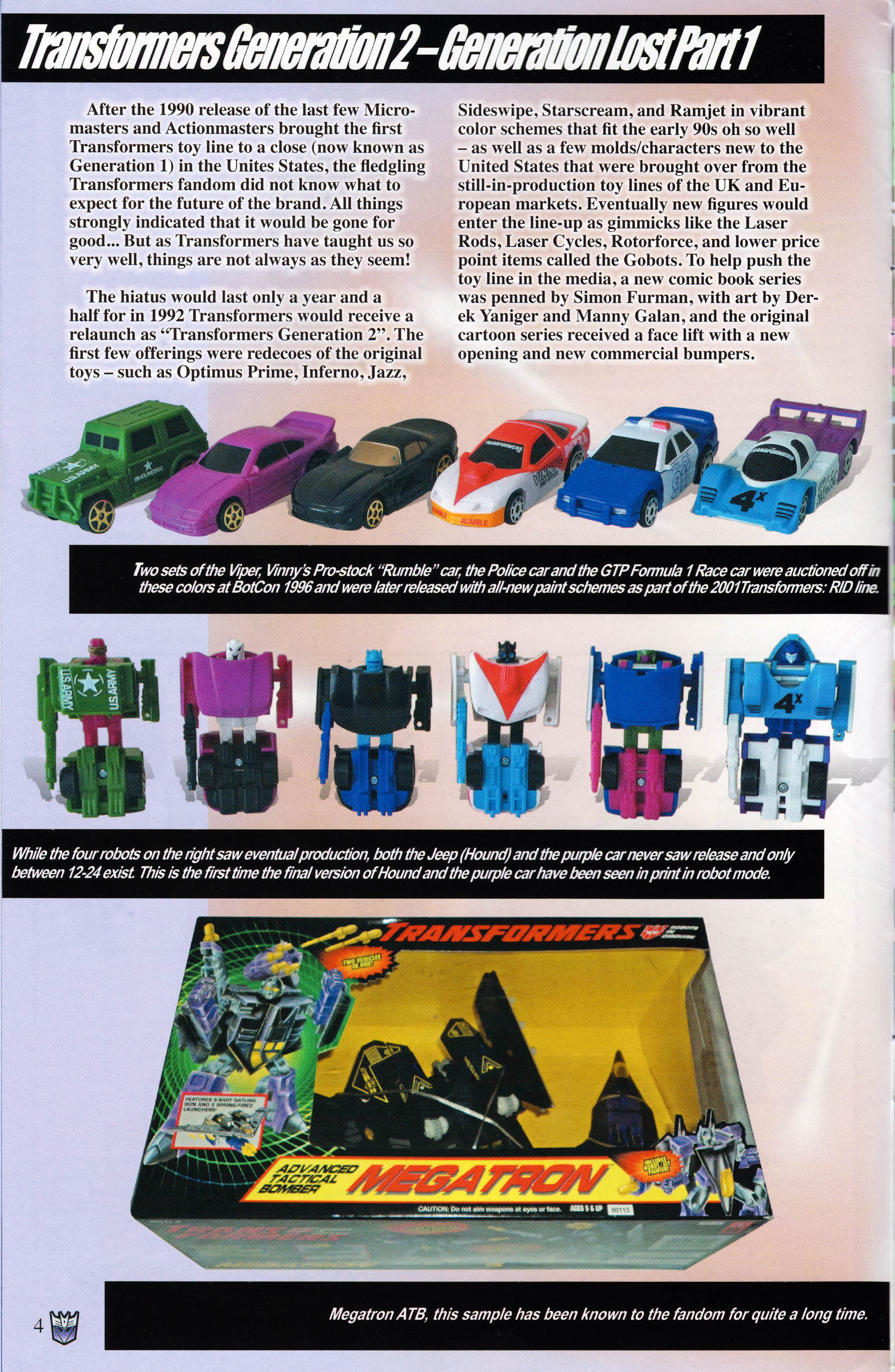 Read online Transformers: Collectors' Club comic -  Issue #59 - 4