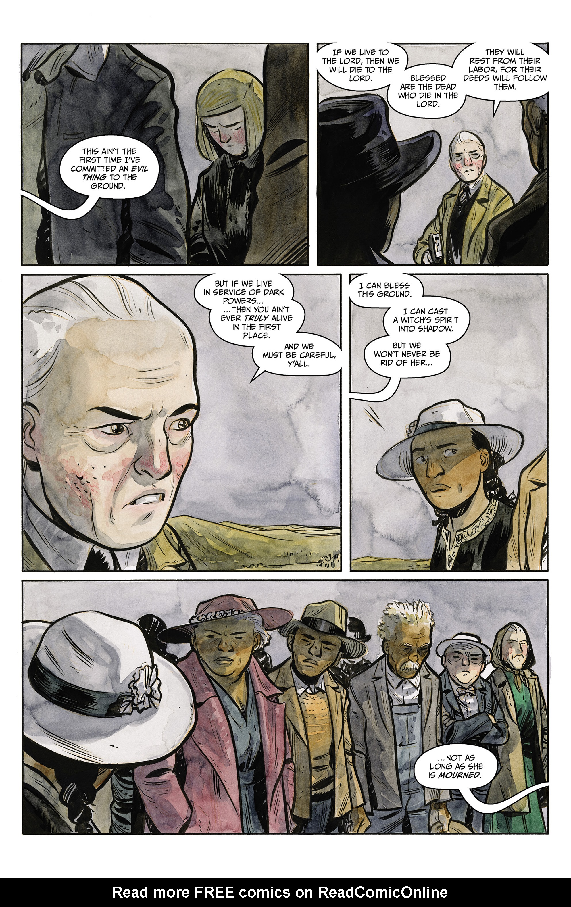 Read online Harrow County comic -  Issue #23 - 4