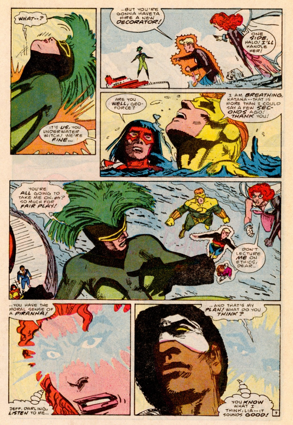 Read online Adventures of the Outsiders comic -  Issue #38 - 10