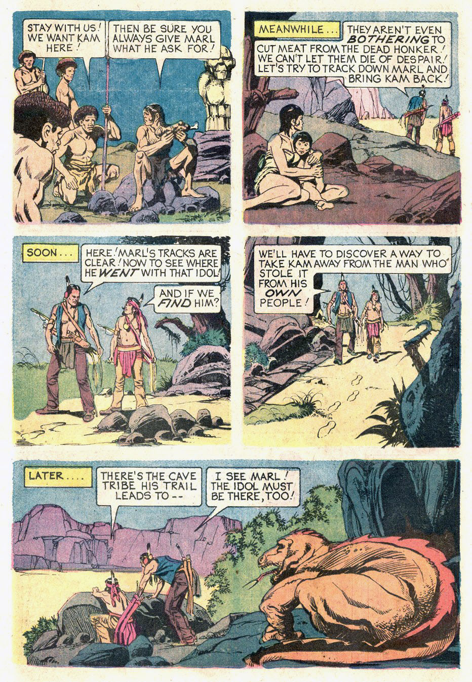 Read online Turok, Son of Stone comic -  Issue #92 - 26