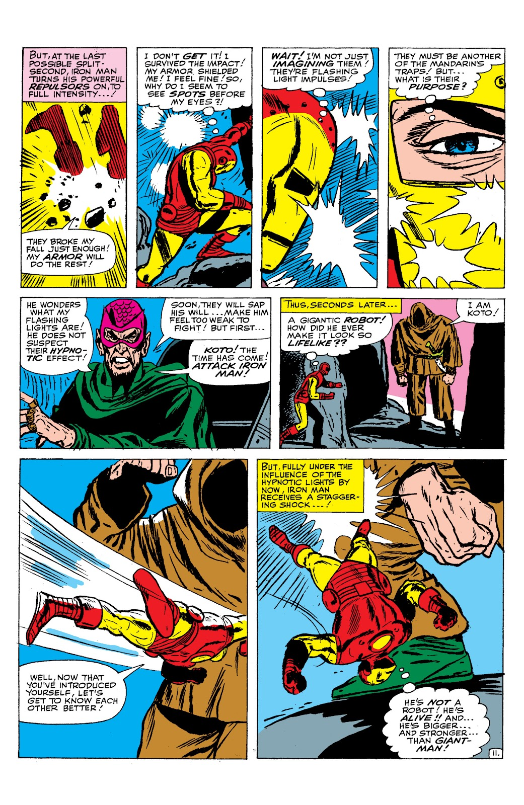 Read online Marvel Masterworks: The Invincible Iron Man comic -  Issue # TPB 2 (Part 2) - 82