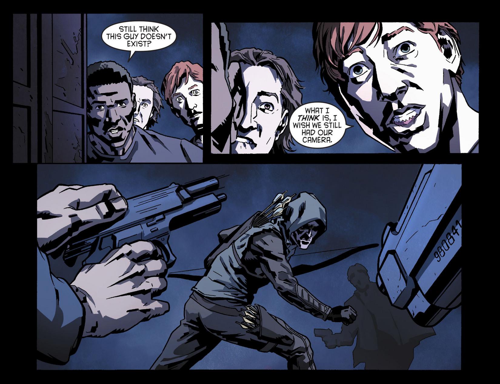 Read online Arrow [II] comic -  Issue #8 - 17
