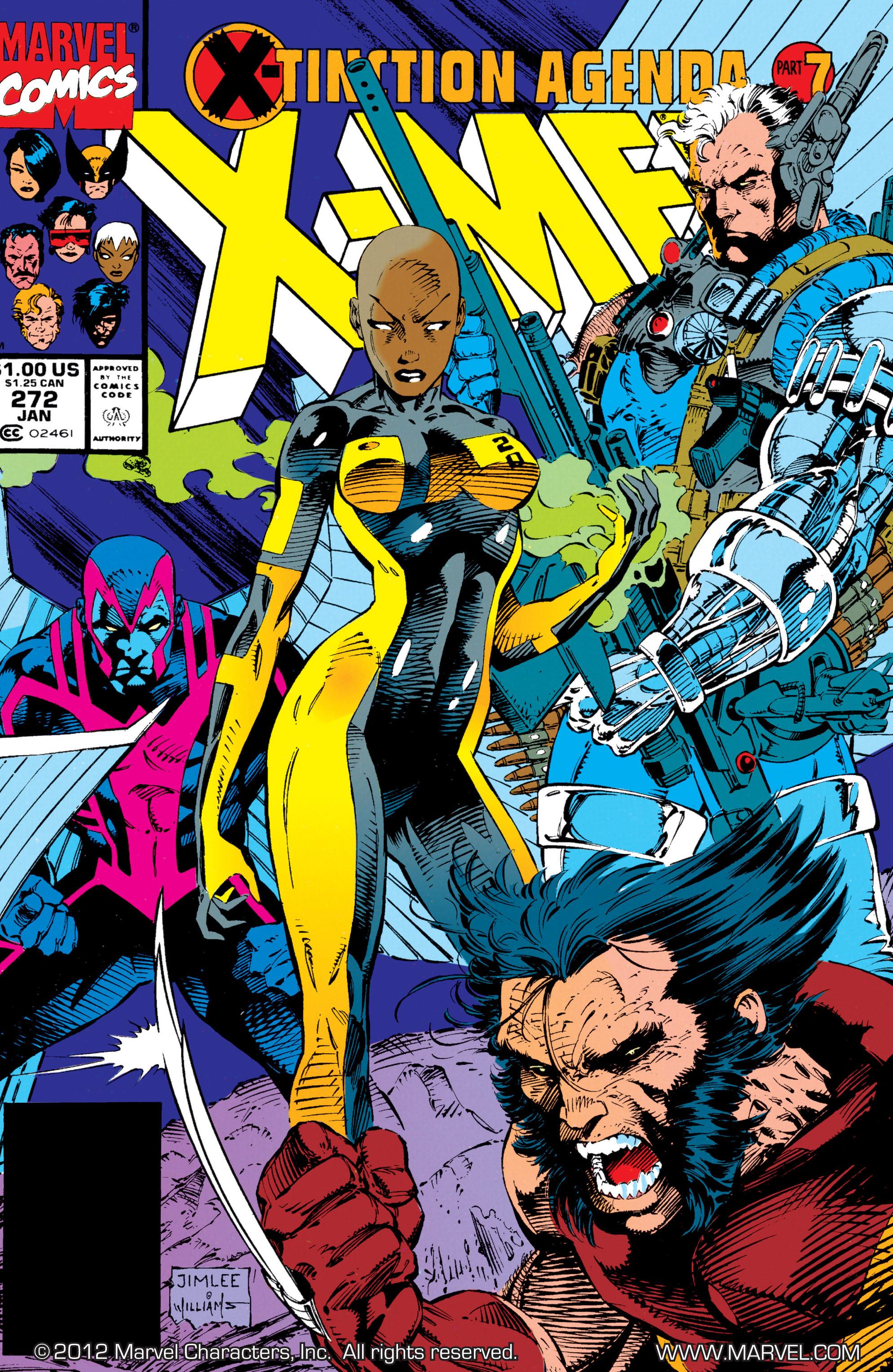 Uncanny X-Men (1963) 272 Page 1